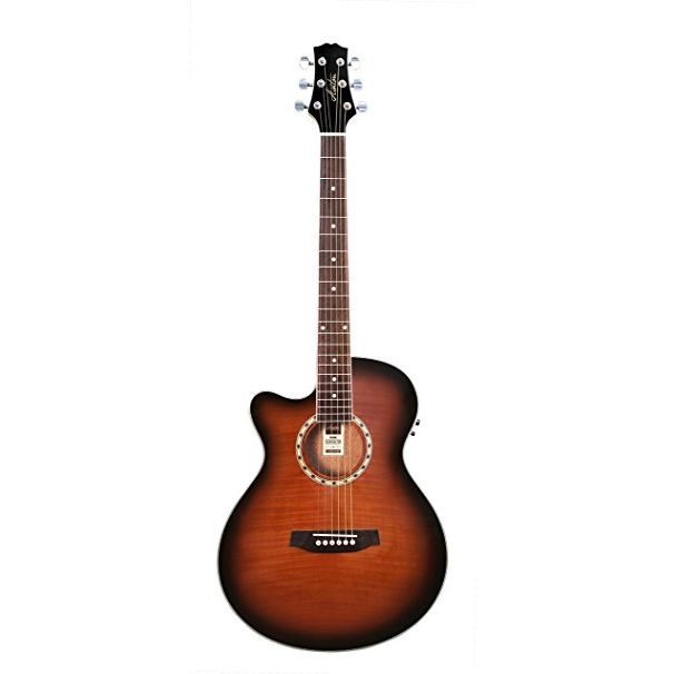 Guitarra electroacústica zurdo