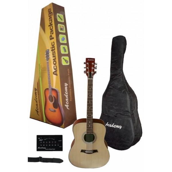 Guitarra acústica Pack