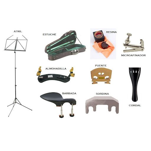 Accesorios instrumentos de arco