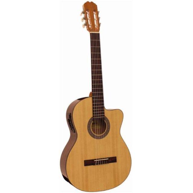 Guitarras clásicas amplificadas
