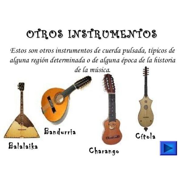 Otros instrumentos de cuerda