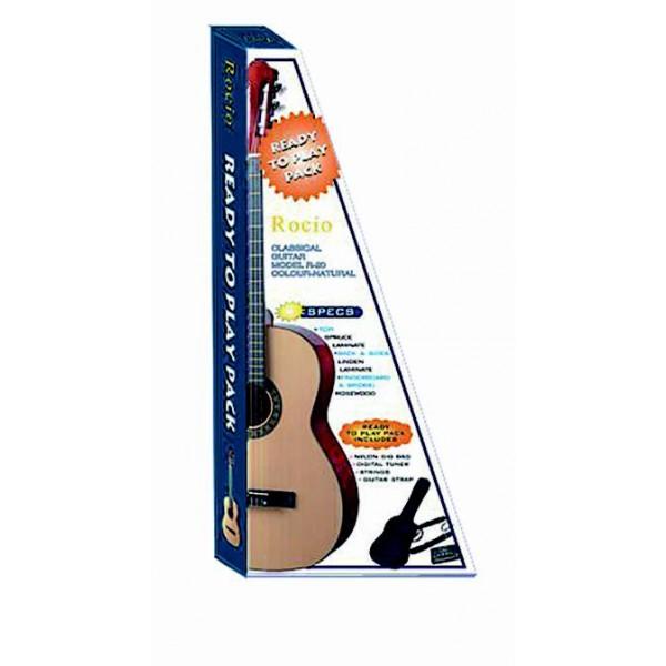 Guitarra clásica Pack