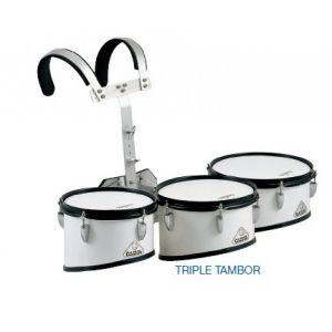 Triple tambor de marcha Jinbao