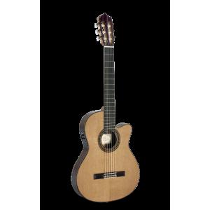 Paco Castillo guitarra clasica amplificada (Aros estrechos) 234TE