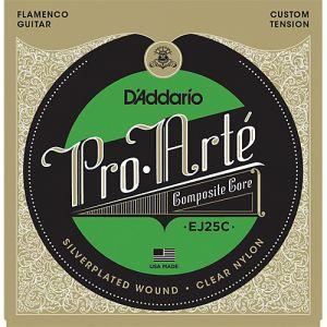 D´Addario juego cuerdas flamenco EJ25C