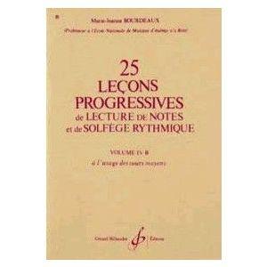 25 Leçons Progressives Vol. IVB