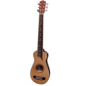 """Guitarra de Viaje """"SAVANNAH"""" con Funda"""