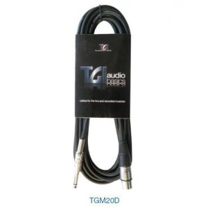 Cable micro XLR-Jack 3 metros