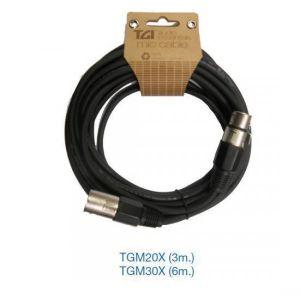 Cable micro XLR-XLR 9 metros