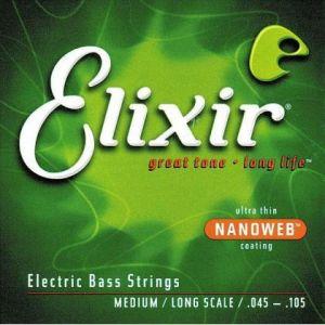 Elixir cuerdas bajo Nanoverb