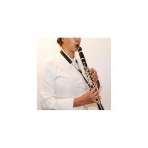 Colgador clarinete elástico