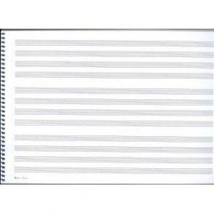 Cuaderno folio armonía apaisado