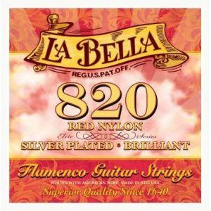 La Bella Juego cuerdas nylon guitarra flamenca