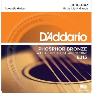 D´Addario cuerdas guitarra acústica EJ15