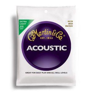 Martin cuerdas acústica