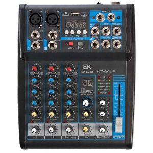Mesa Mezclas con efectos EK audio KT04UP