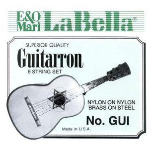 Guitarrón La Bella cuerdas nylon