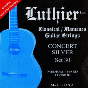 Luthier Juego cuerdas nylon Set 30 Carbono