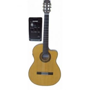 Guitarra Flamenca Amplificada Martinez MFG-RSCEF