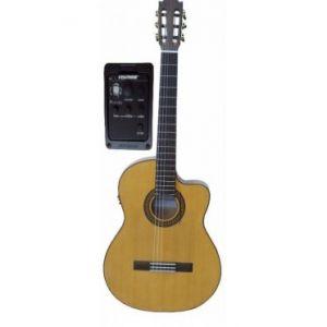 Guitarra Flamenca Amplificada Martinez MFG-RSCEF