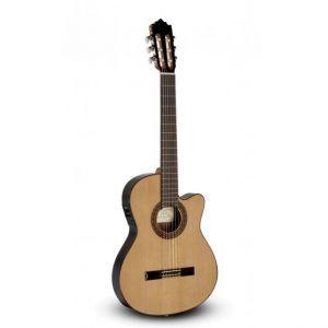 Paco Castillo guitarra clásica amplificada (Aros estrechos) 232TE