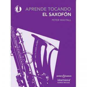 Aprende tocando el saxofon