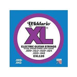 D´Addario cuerdas guitarra eléctrica