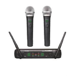 2 Micrófonos inalámbricos EK Audio