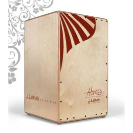 Cajón flamenco Leiva Alma Red